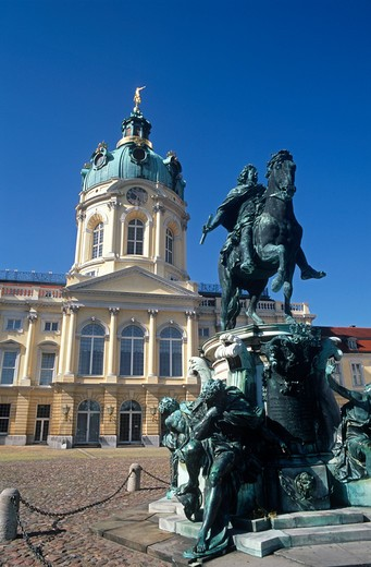 Charlottenburg Castle, Berlin, Germany : Stock Photo