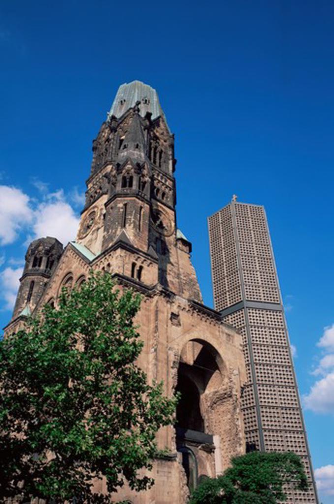 Stock Photo: 1609R-28983 Kaiser Wilhelm Church, Kurfurstendamm, Berlin, Germany