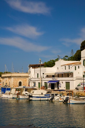 Stock Photo: 1609R-29242 Ciutadella, Menorca,