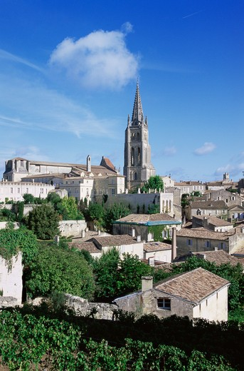 Stock Photo: 1609R-29357 St. Emilion, Gironde, Aquitaine, France