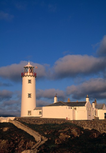 Stock Photo: 1609R-29955 Fanad Lighthouse, Donegal Peninsula, County Donegal, Ireland