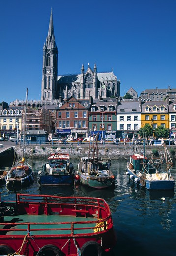 Stock Photo: 1609R-29956 Cathedral, Cobh, Co. Cork, Ireland