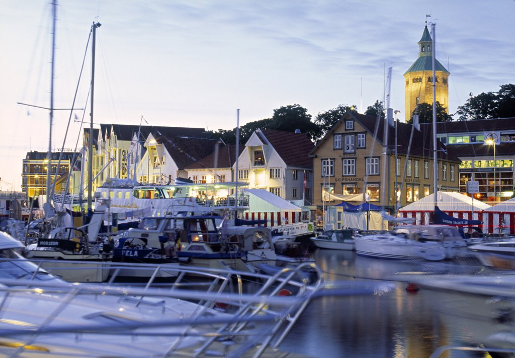Stavanger Harbour, Stavanger, Norway : Stock Photo