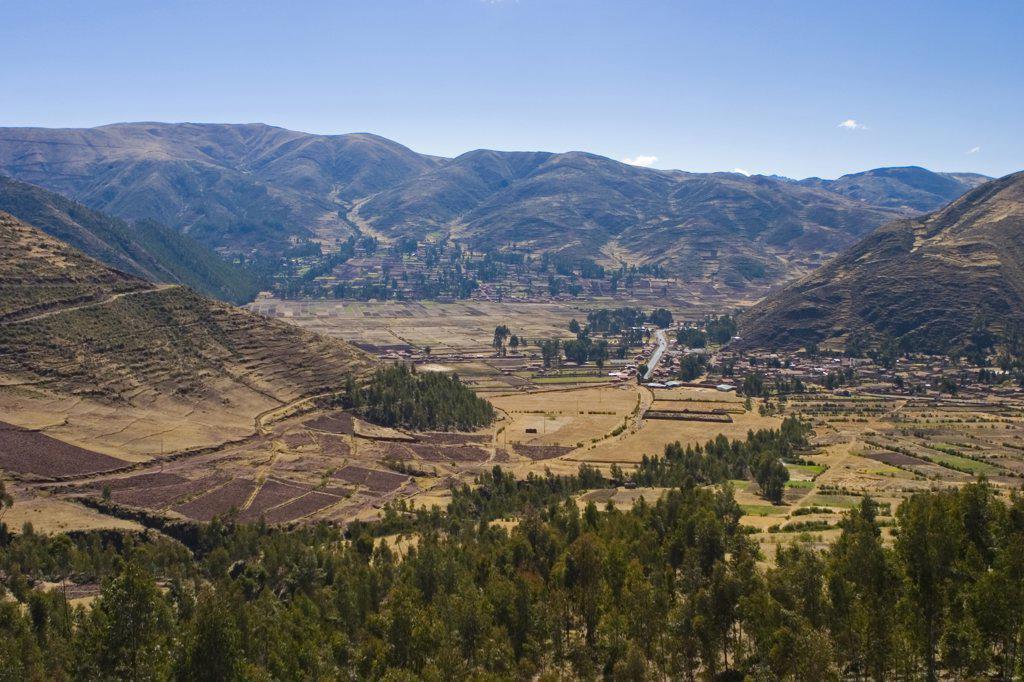 Vilcanota & Urubamba Valley, Sacred Valley of the Incas, Cusco, Peru : Stock Photo