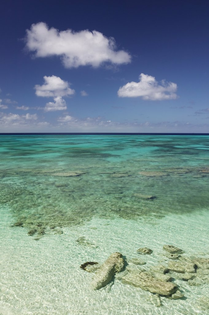 Stock Photo: 1609R-31289 Turks & Caicos, Grand Turk Island, Cockburn Town, Beach