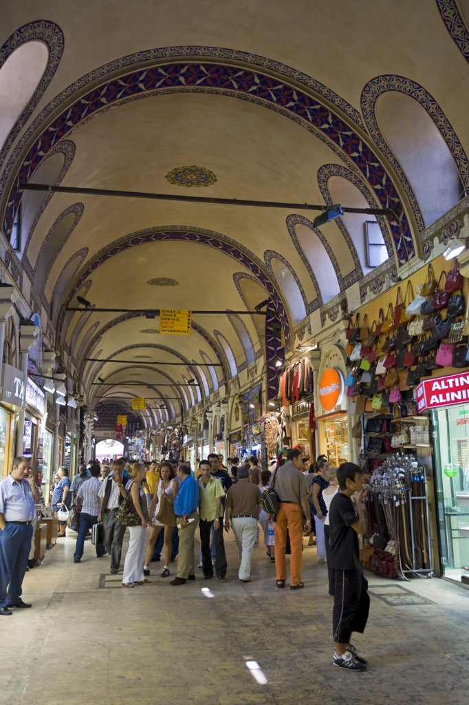 Stock Photo: 1609R-31376 Gran Bazaar, Sultanhamet, Istanbul, Turkey