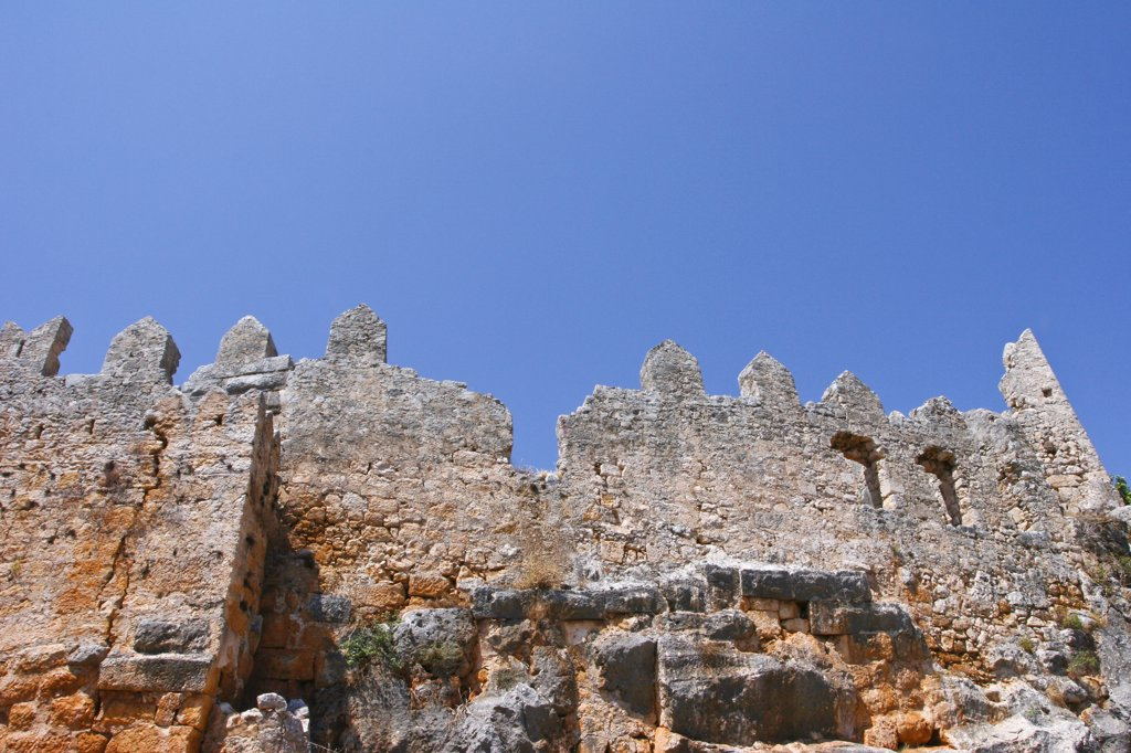 Stock Photo: 1609R-31391 Turkey, Kalekoy, Crusader fortress
