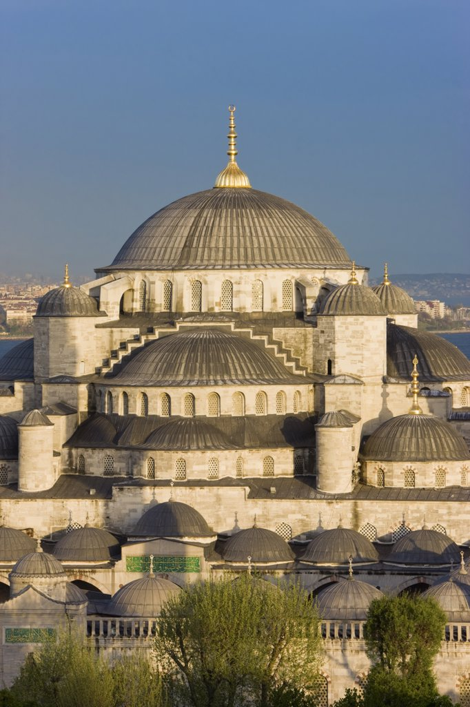 Stock Photo: 1609R-31442 Blue Mosque, Sultanahmet, Istanbul, Turkey