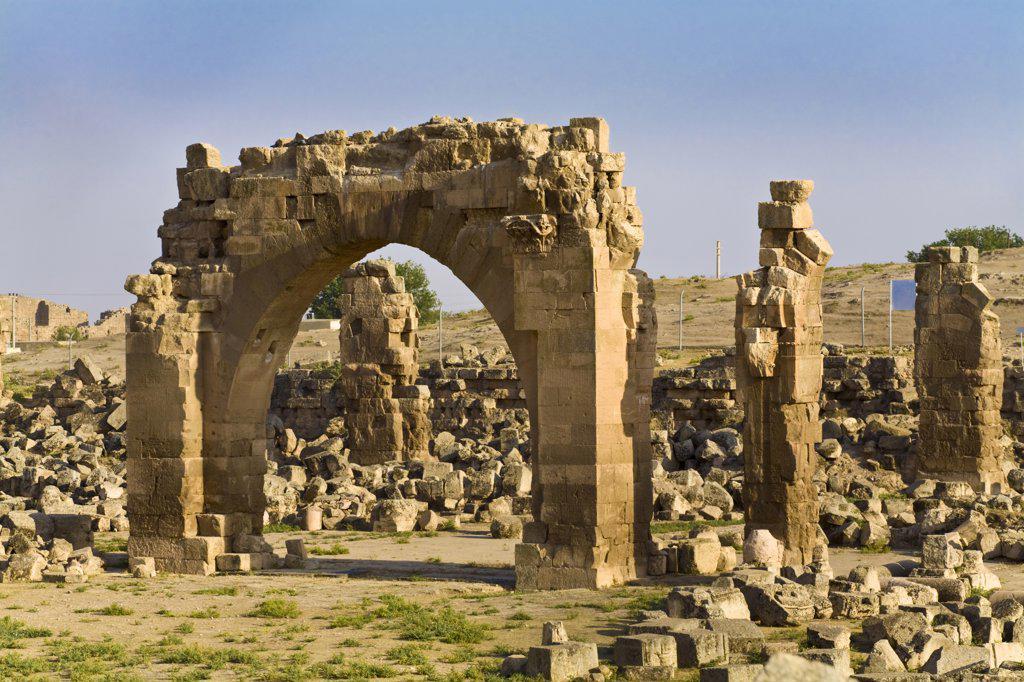 Stock Photo: 1609R-31493 Turkey, Eastern Turkey, Harran, Ruins of Ulu Cami, 8th century