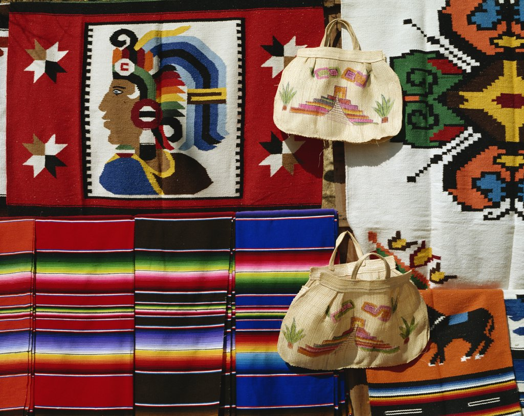 Stock Photo: 1609R-31554 Mexico, Yucatan, Cancun, Souvenirs
