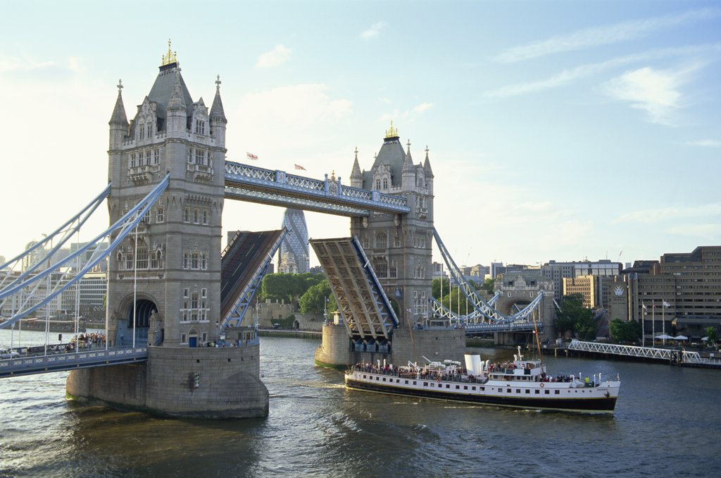England, London, Tower Bridge : Stock Photo