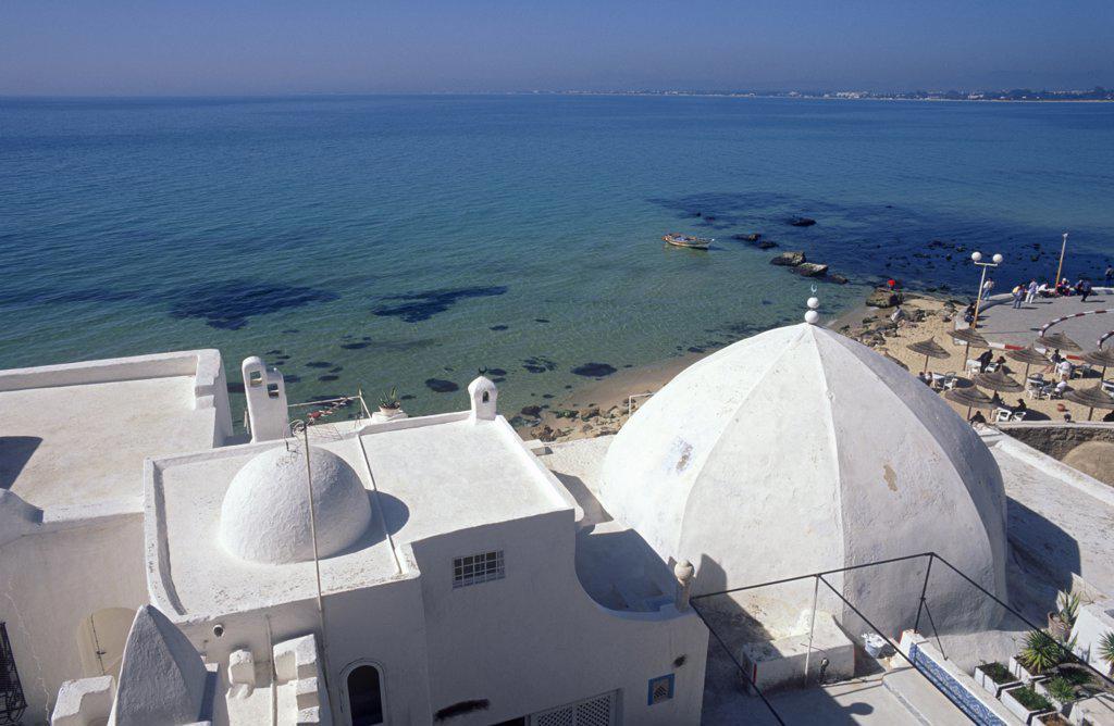 Stock Photo: 1609R-31620 Medina, Hammamet, Tunisia