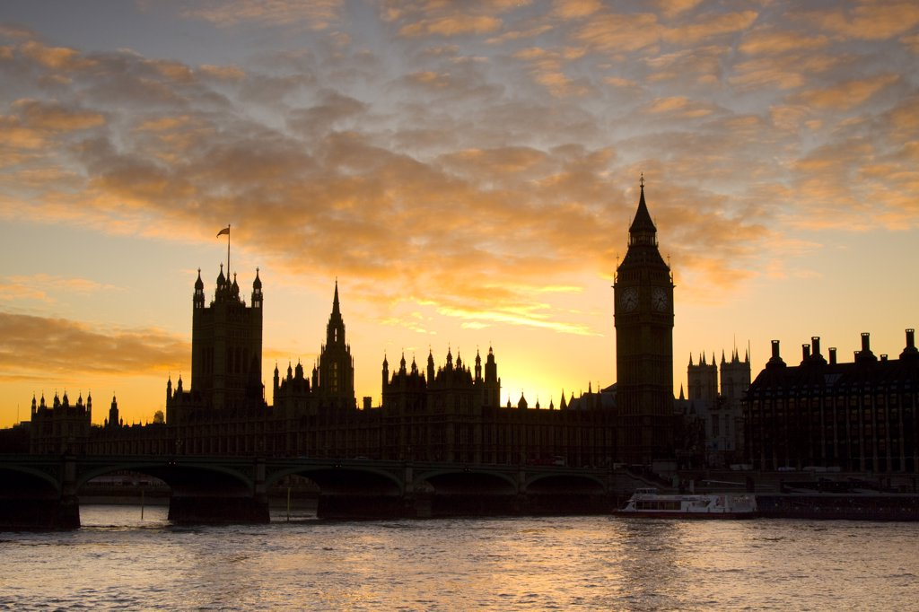 Houses of Parliamant, London, England : Stock Photo