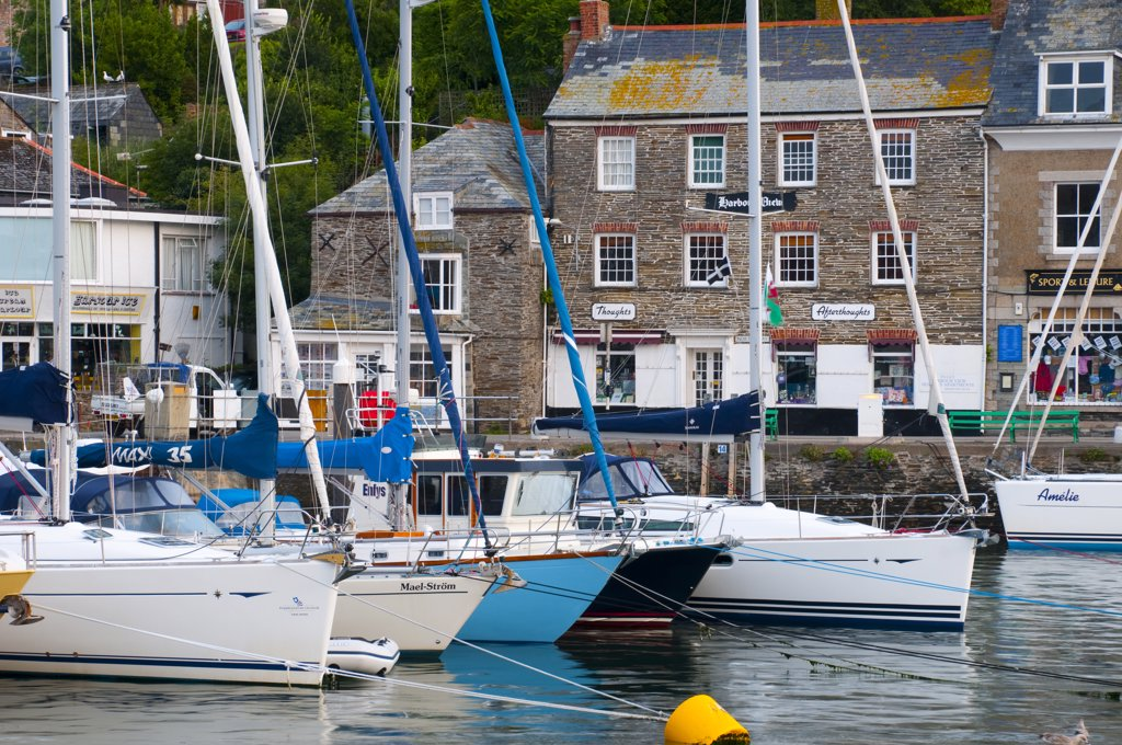Stock Photo: 1609R-31957 UK, England, Cornwall, Padstow Harbour