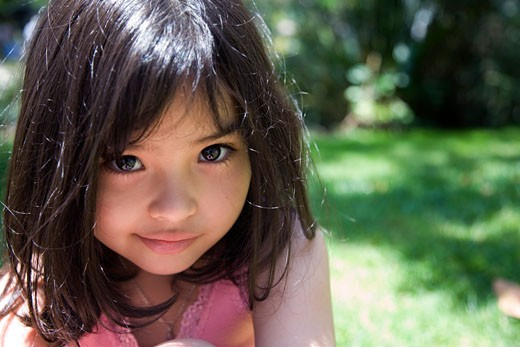 Stock Photo: 1610-278C Portrait of a girl