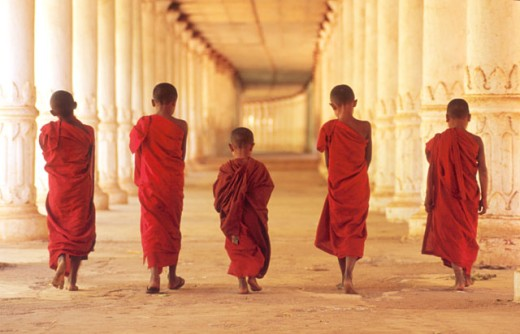 Buddist Monks : Stock Photo