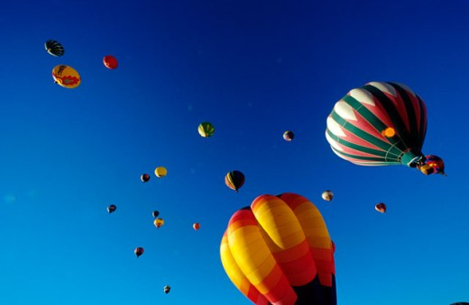 Balloon Festival : Stock Photo
