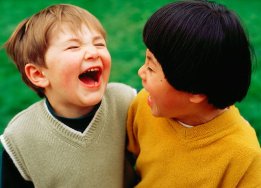 Stock Photo: 1626-1750 Friends Laughing