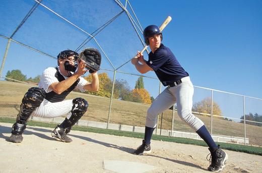 Playing Baseball : Stock Photo