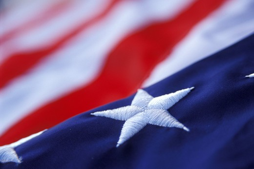 Stock Photo: 1626R-13234 Stars and Stripes