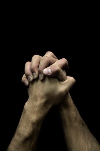 Praying Hands : Stock Photo