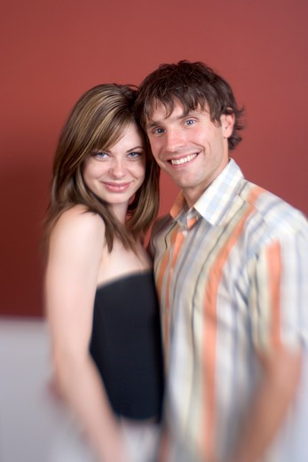 Couple Posing Together : Stock Photo