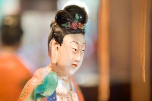 Stock Photo: 1626R-21943 Japanese Figurine