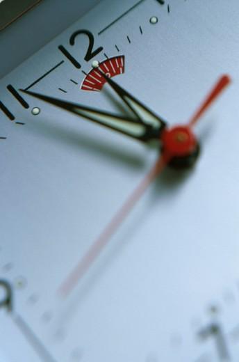 Stock Photo: 1626R-2896 Ticking Clock