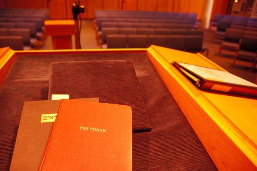 Podium at a Synagogue : Stock Photo