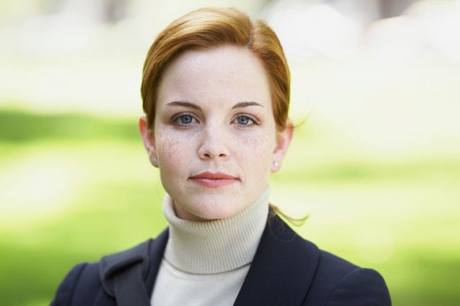Stock Photo: 1628-287A Portrait of a businesswoman