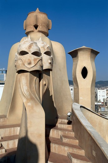 Stock Photo: 164-2381 Casa Mila (La Pedrera)