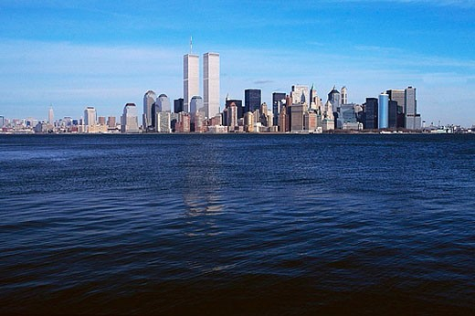 Lower Manhattan Skyline : Stock Photo