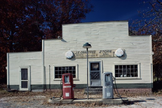 Stock Photo: 165-1415 County Store, Alamance County, North Carolina, USA