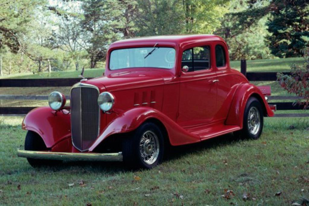 Stock Photo: 165-1836 1935 Chevy