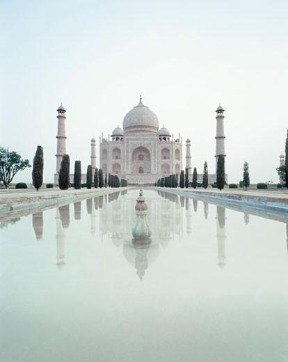 Taj Mahal at Morning : Stock Photo