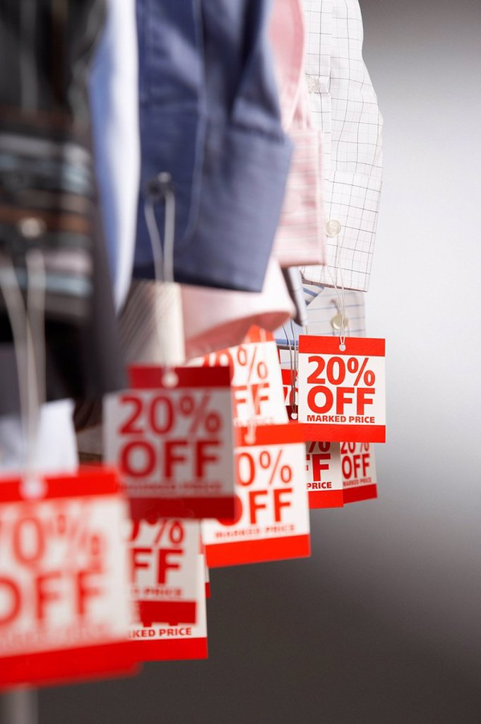 Stock Photo: 1654R-13778 Clothing on Sale