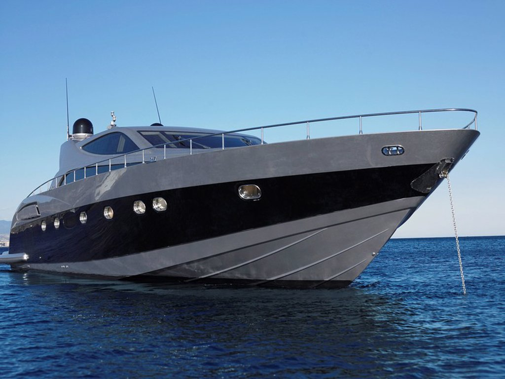 Yacht on the Water : Stock Photo