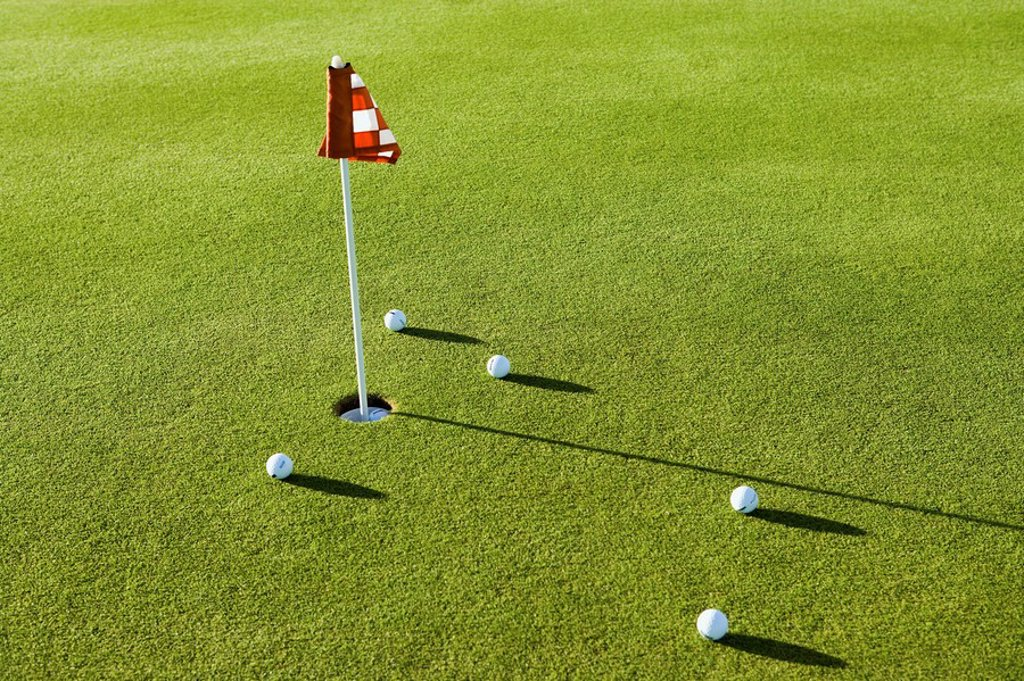 Putting green : Stock Photo