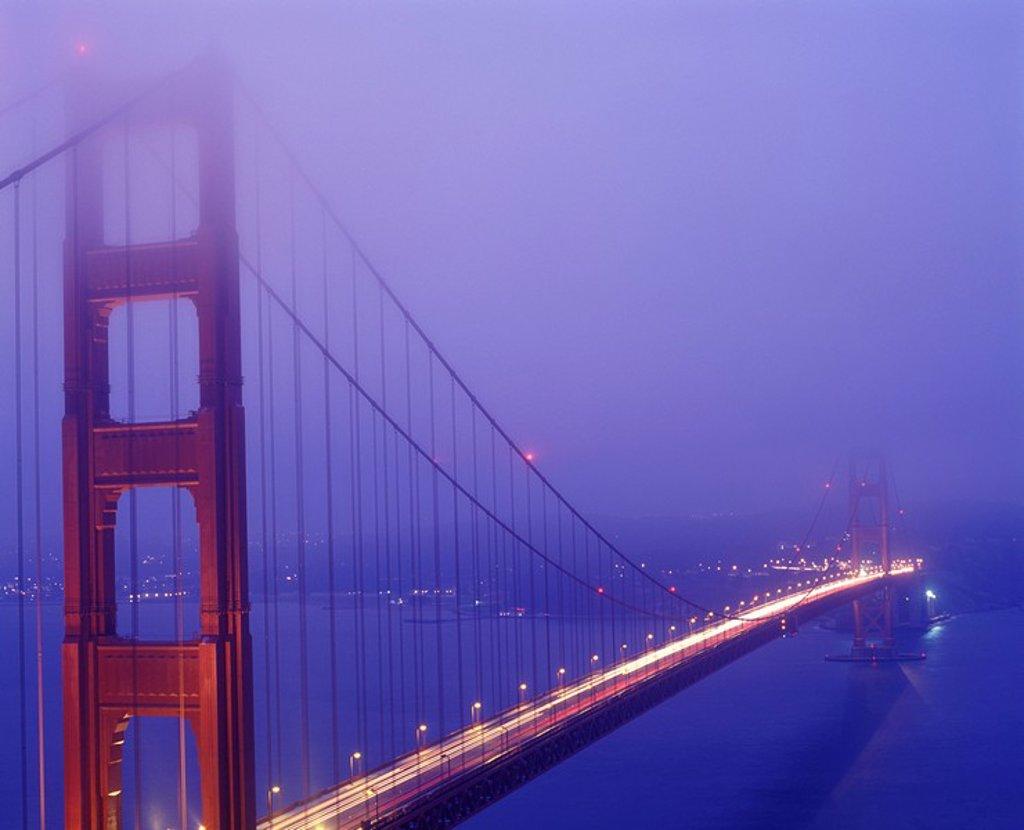 Golden Gate Bridge San Francisco Bay : Stock Photo