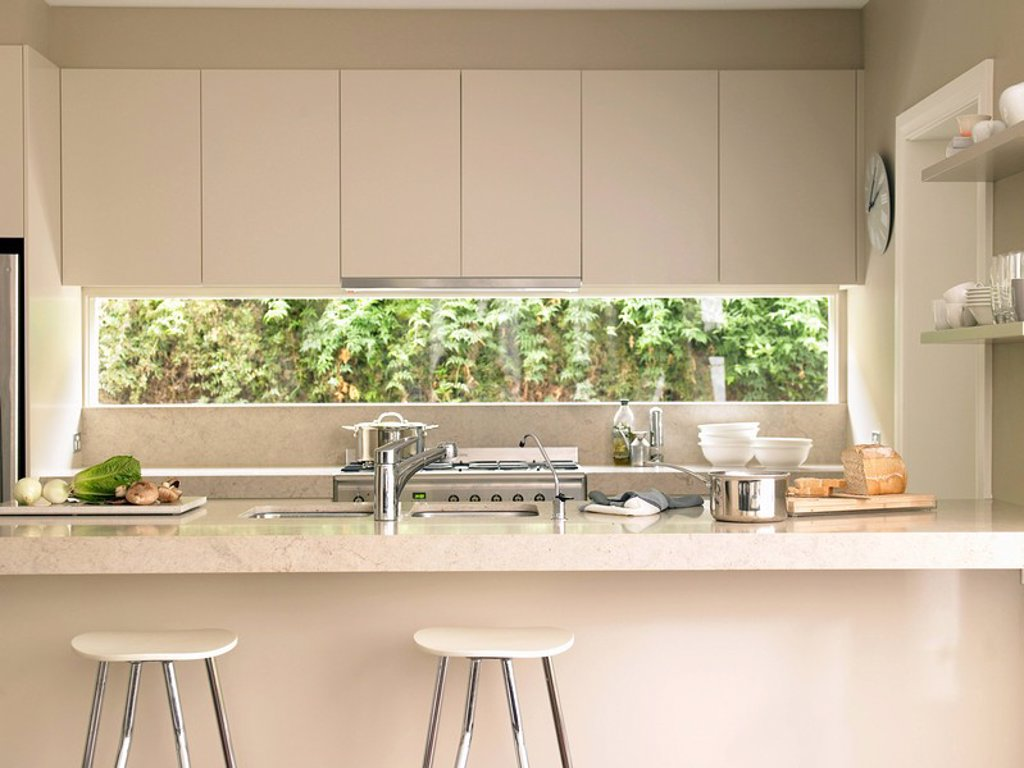Kitchen interior : Stock Photo