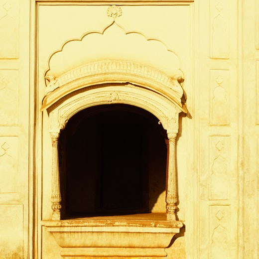 Stock Photo: 1657R-11296 Close-up of the window of a monument, Safdarjung Tomb, New Delhi, India