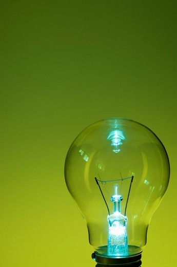 Close-up of a light bulb : Stock Photo