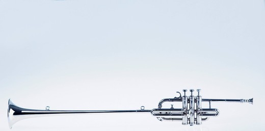 Close-up of a trumpet : Stock Photo