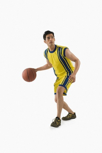 Stock Photo: 1657R-35746 Basketball player
