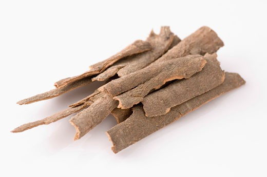 Stock Photo: 1657R-9137 Close-up of a heap of Cinnamon
