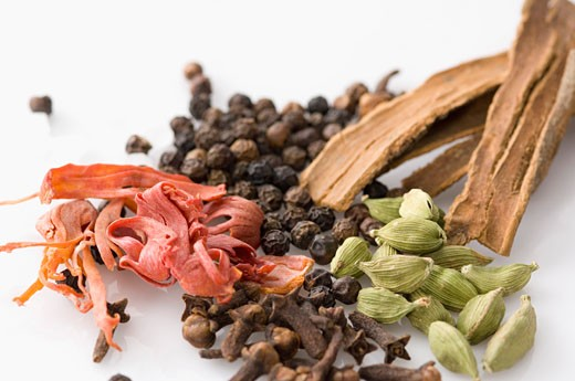 Stock Photo: 1657R-9147 Close-up of spices