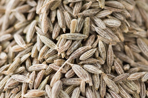 Close-up of Cumin seeds : Stock Photo