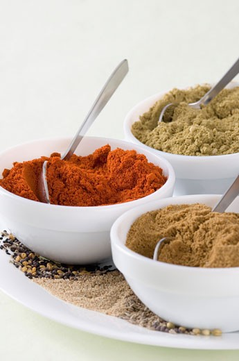 Stock Photo: 1657R-9207 Close-up of spices