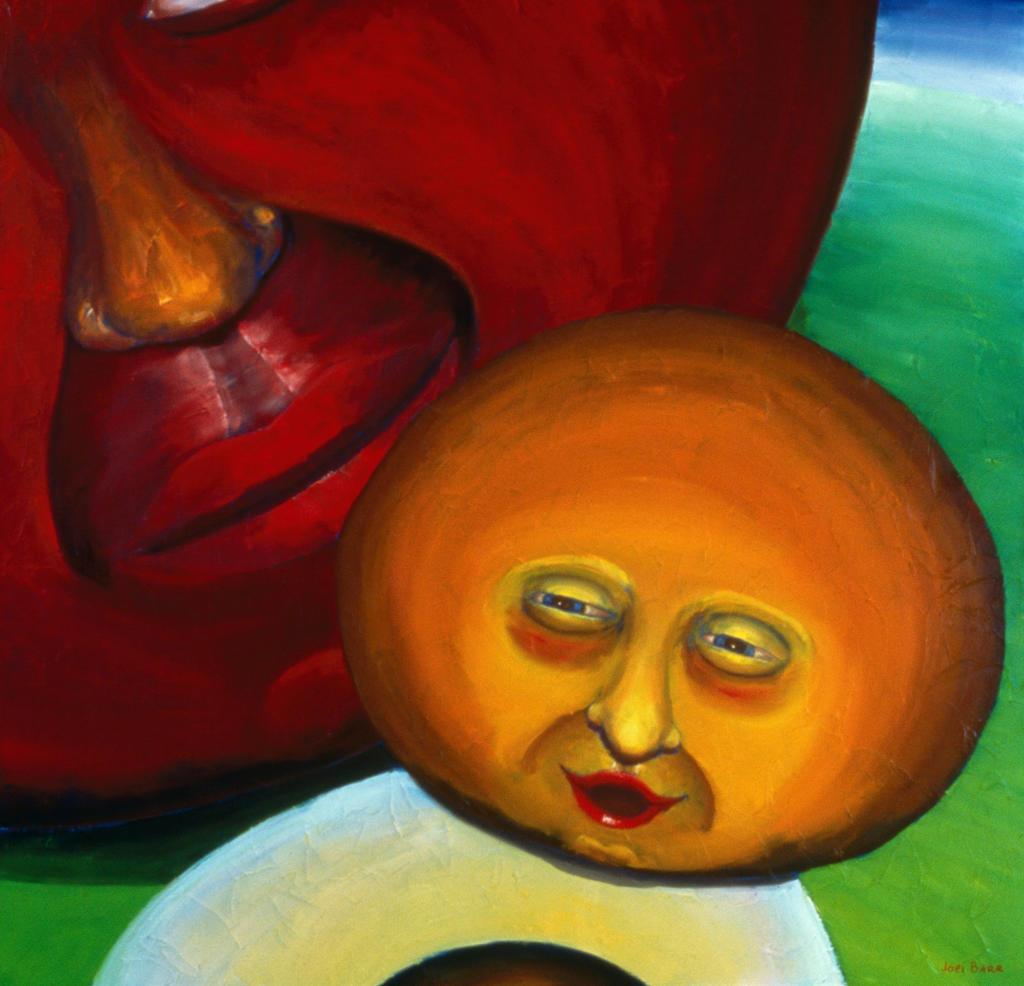 Parent, Child, Parent, Child 2000 Joel Barr (b.1946 American) Oil on canvas : Stock Photo