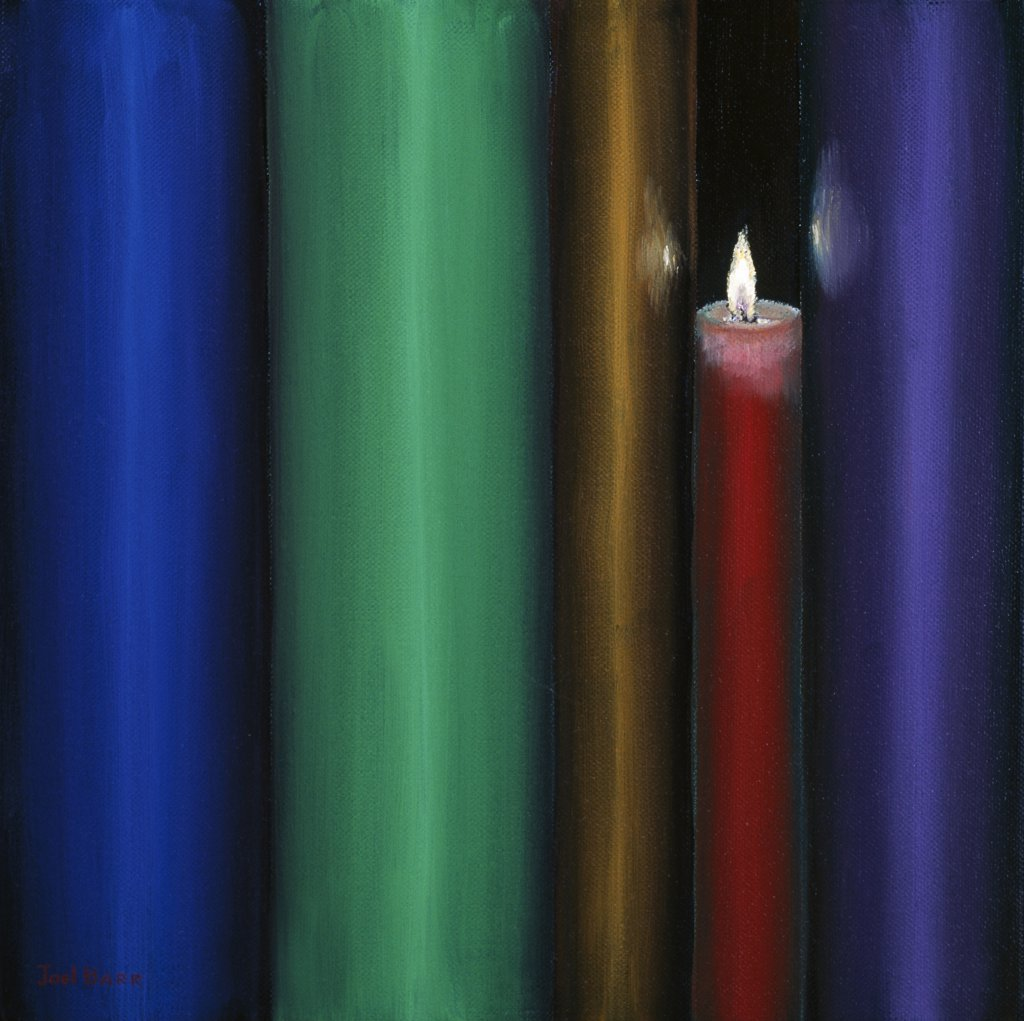 Stock Photo: 1658-161 Every Light is Bright 2006 Joel Barr (b.1946 American) Oil on canvas